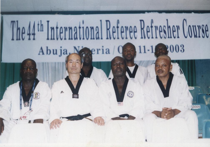 THE 44TH WTF INTERNATIONAL REFEREE REFRESHER SEMINAR, ABUJA, NIGERIA