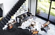 A stylish home in Malibu