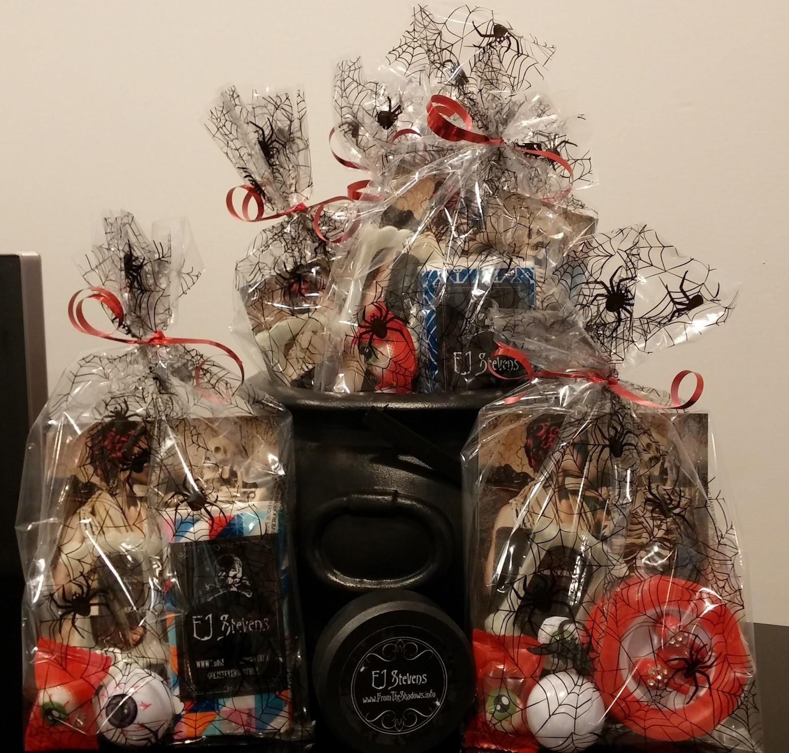 Blood And Mistletoe Paperback Book Launch At Hallowread Swag Bags