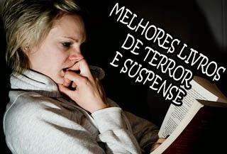 os livros de terror e suspense mais assustadores