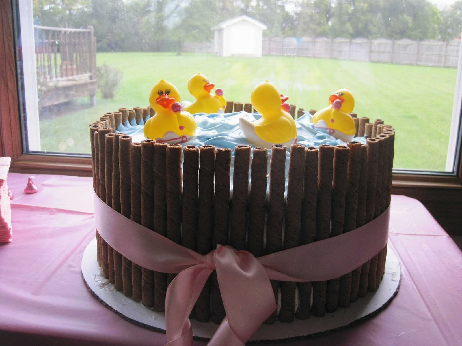 A Life Less Ordinary Ducks in a Barrel Baby Shower Cake