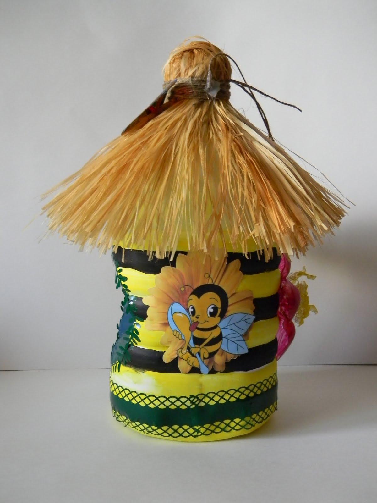 Пчела из пластиковых бутылок » Чудесенка - Сайт для детей и 88