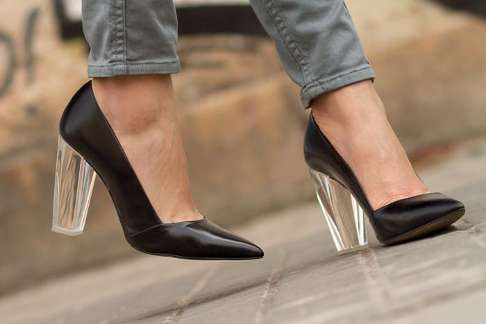 Zapatos con tacón de metacrilato  Metacrylate Heels Stilettos by Zara