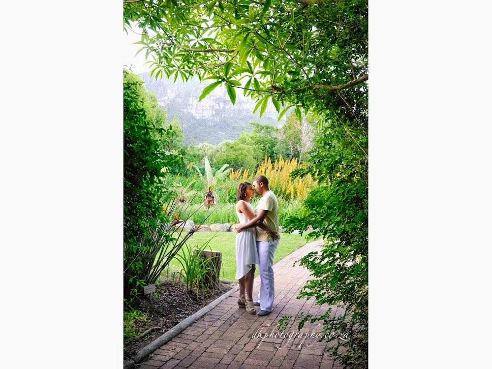DK Photography Slideshow-10 Rochelle & Enrico's Engagement Shoot in Kirstenbosch Botanical Garden & Llandudno Beach  Cape Town Wedding photographer