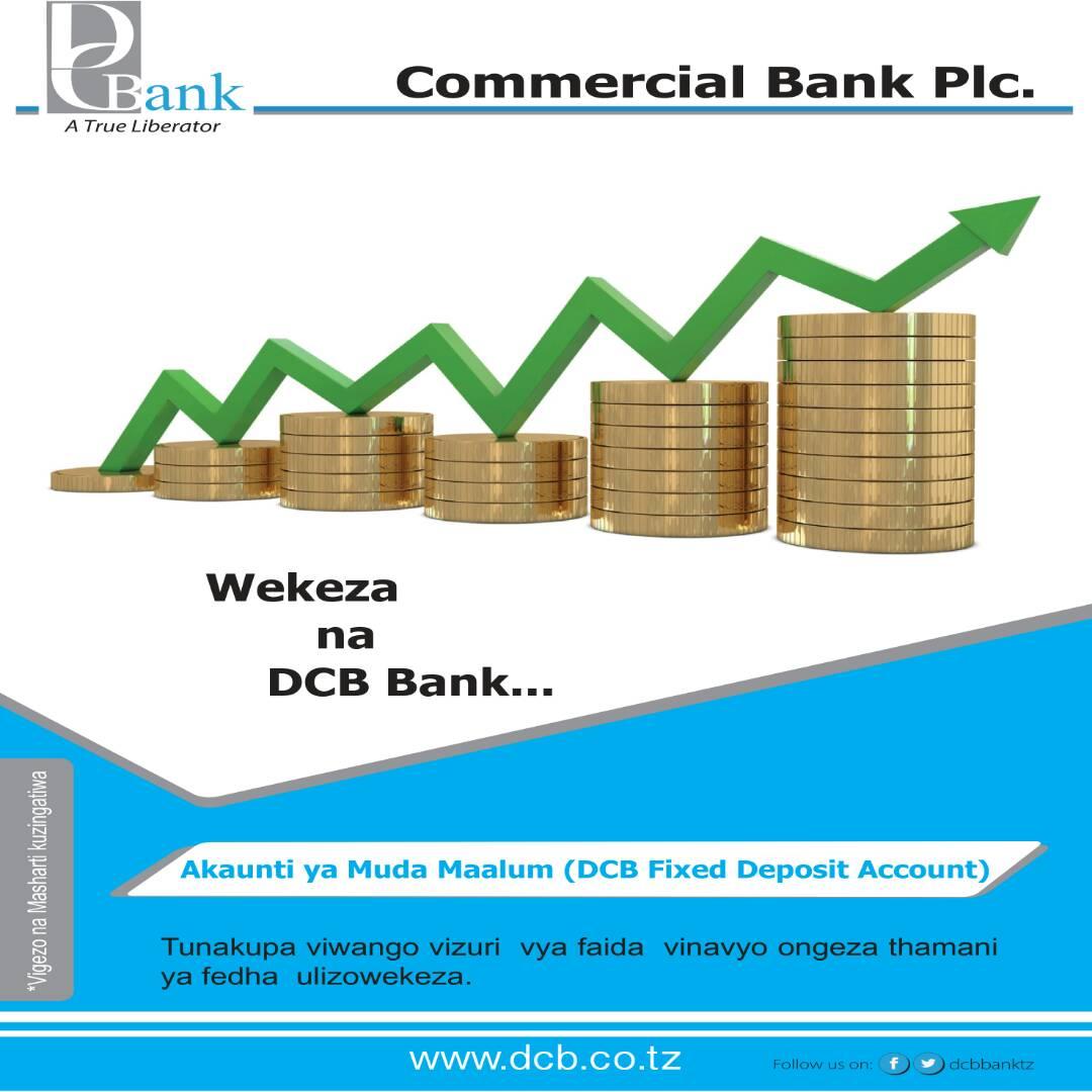 WEKEZA NA DCB BANK