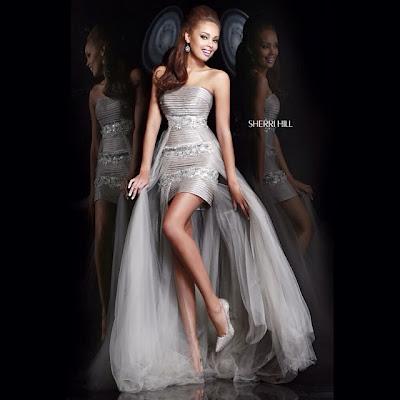 Абитуриентска рокля Sherri Hill 2014
