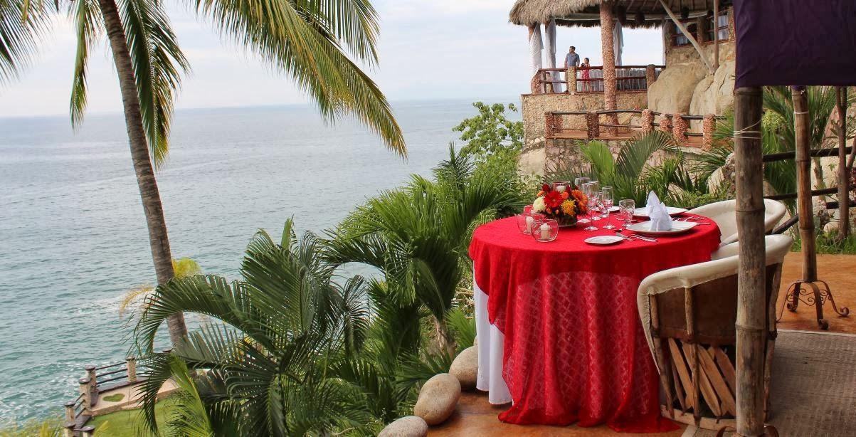 Restaurante reomantico en Puerto Vallarta