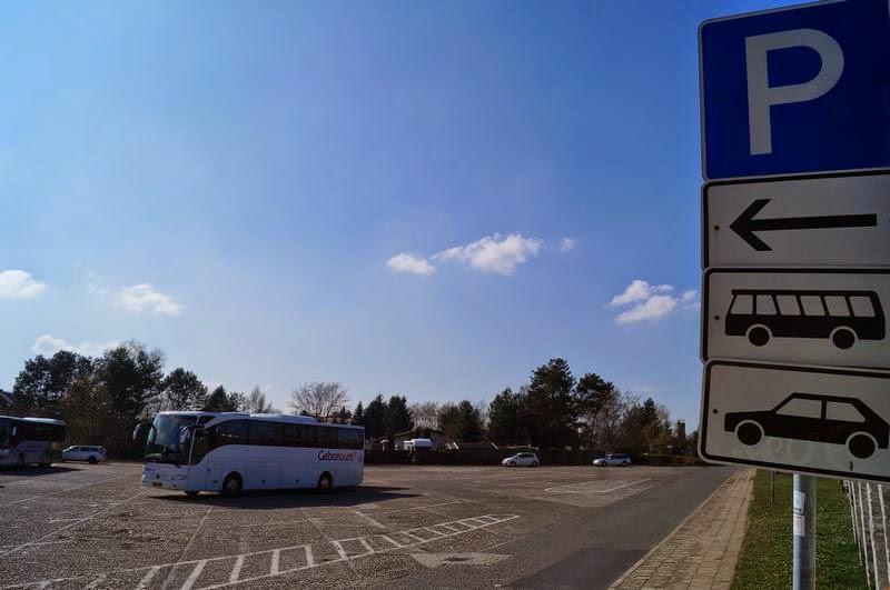 parking campo concentracion de Sachsenhausen, parking autocaravana en berlin, aparcar en Berlin