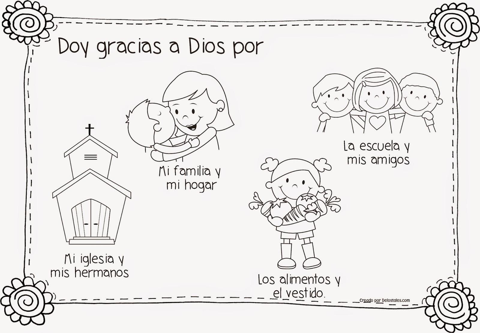 Imagenes De Niños Dando Gracias A Dios Para Colorear picture gallery