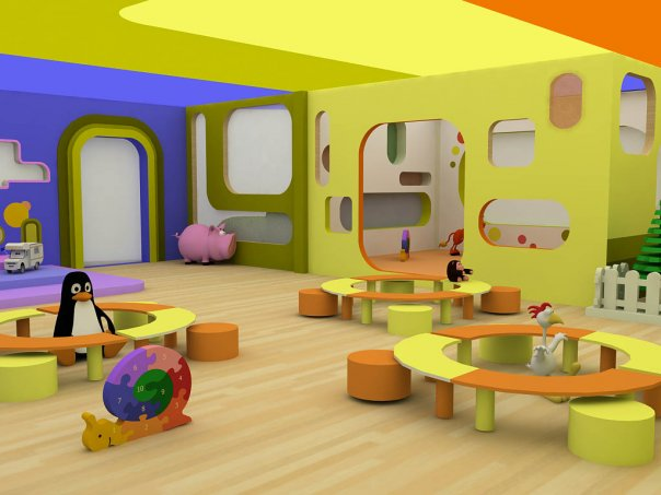 Day Care Interior Design Ideas