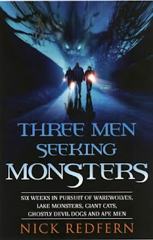 Three Men Seeking Monsters, US Edition, 2004 (Original Unused Version Of Cover)