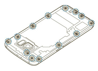 Tutorial Cara Melepas Baterai Samsung Galaxy S6 Edge Dengan Mudah