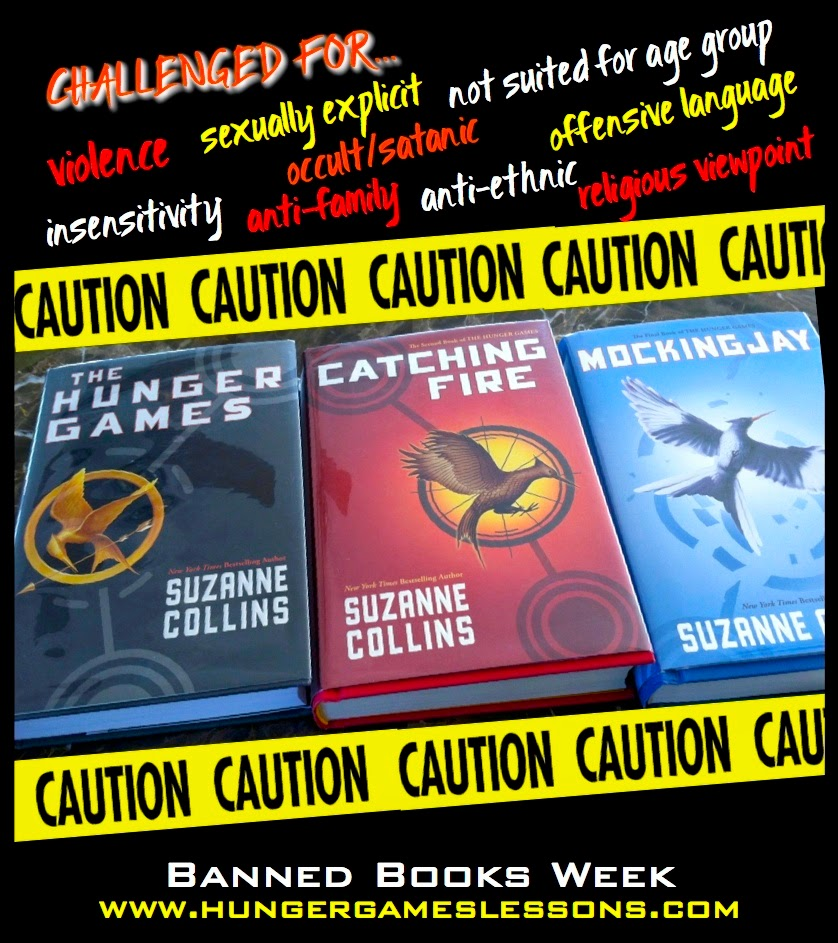 The Hunger Games Trilogy Banned Books Week