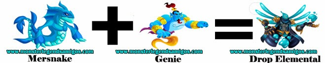 como obtener el monster drop elemental en monster legends formula 1