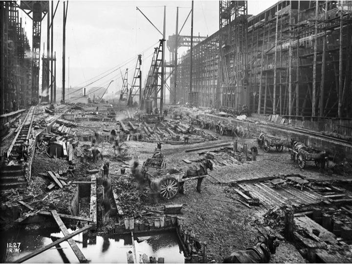 La carta n utica titanic - Construccion del titanic ...