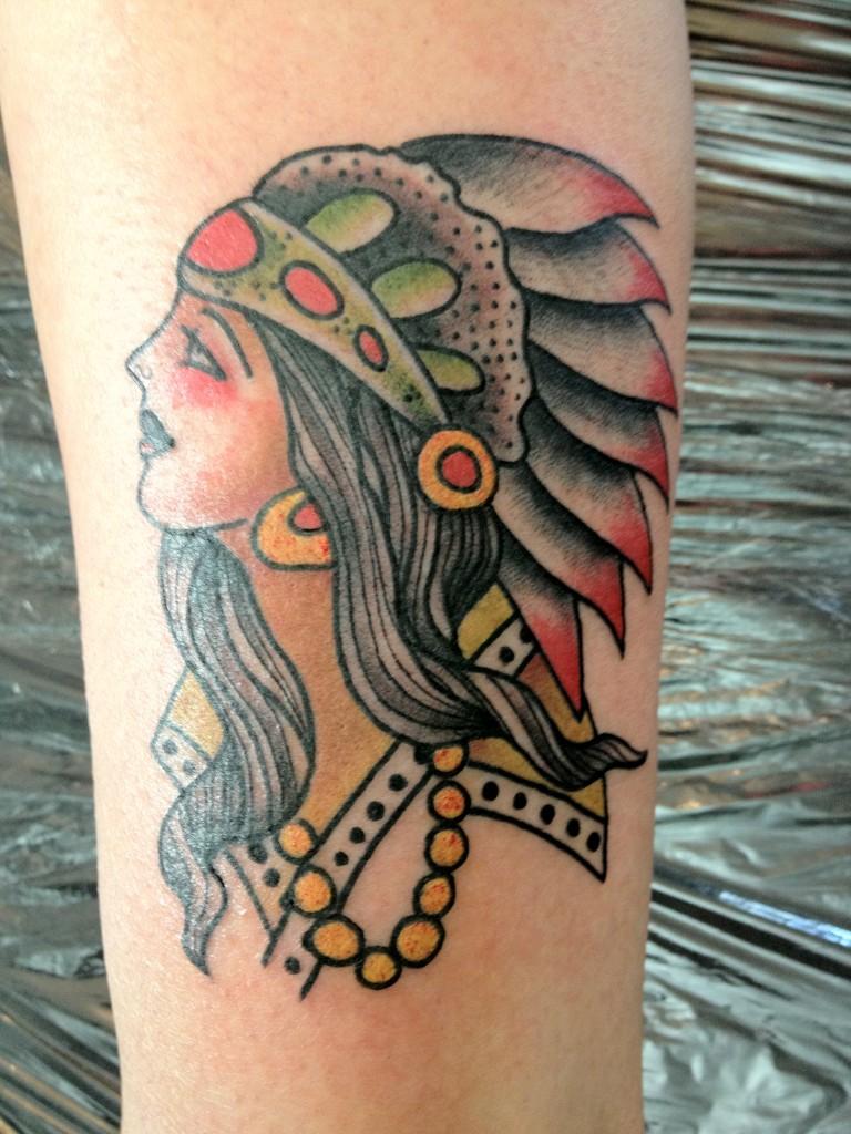 Rad tats sailor jerry for Old school female tattoos