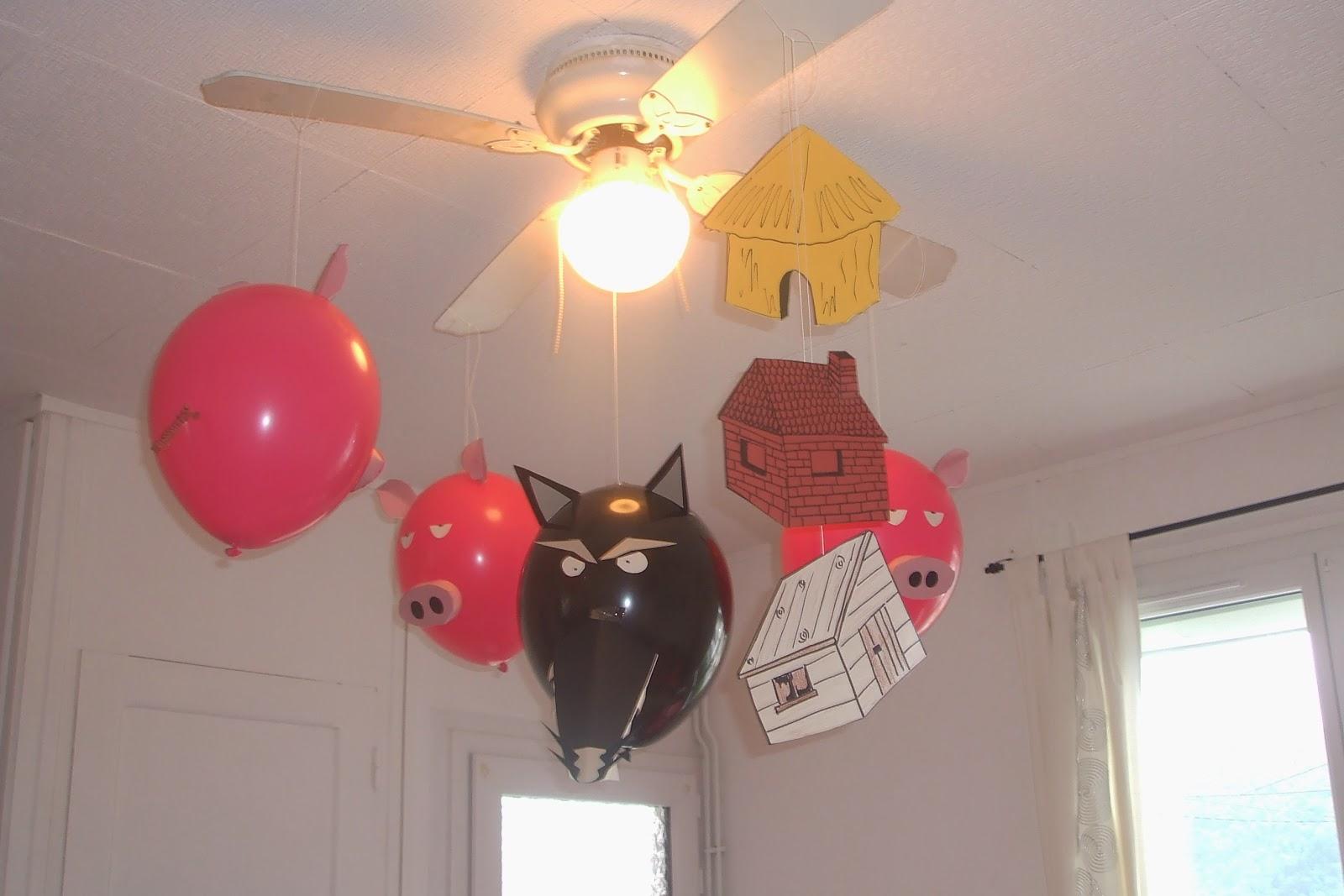 decoration anniversaire loup