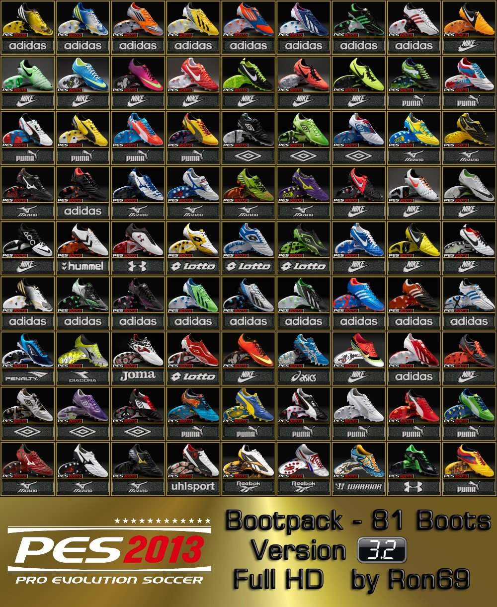 PES 2013 Bootpack 3.2 by Ron69