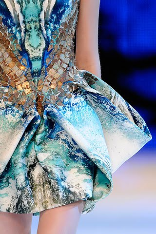 "Piece from ""Plato's Atlantis"" Alexander McQueen SS 2010, details from the collection"