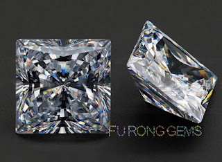 Cubic-Zirconia-Stone-Square-Shape-QUADRILLION-BOTTOM-China-Wholesale