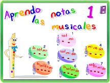 APRENDO LAS NOTAS MUSICALES