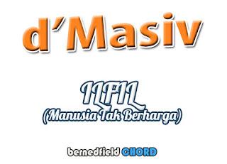 Lirik dan Chord(Kunci Gitar) D'Masiv ~ Ilfil (Manusia Tak Berharga)