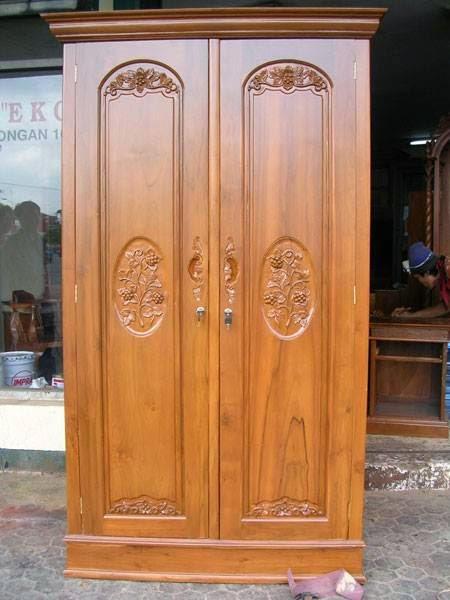Model Lemari Pakaian 2 Pintu