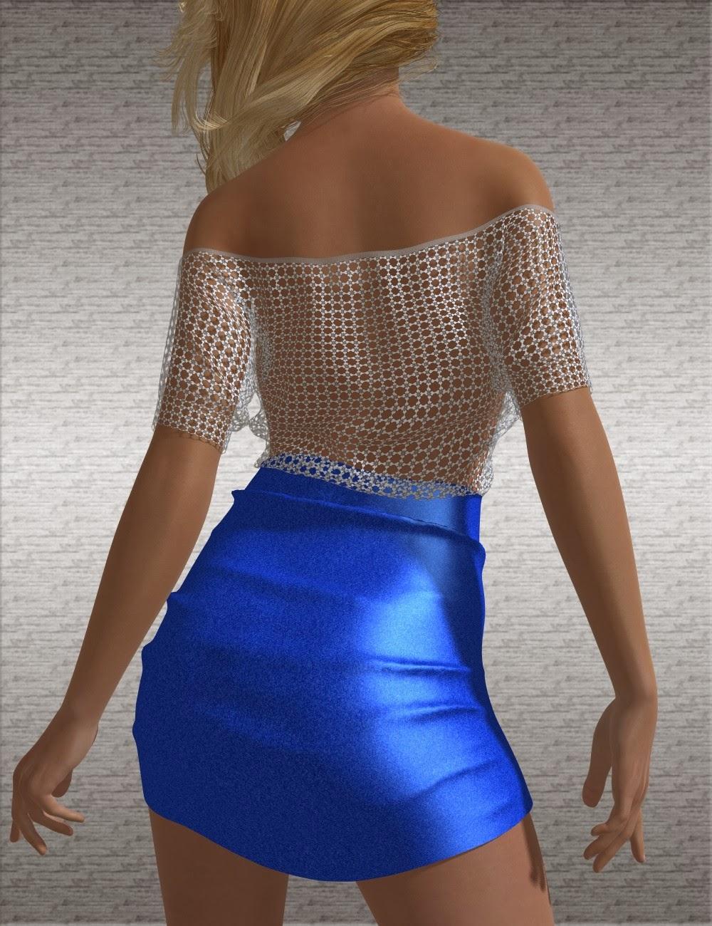 Textures amusantes pour les Short Mini robe à manches