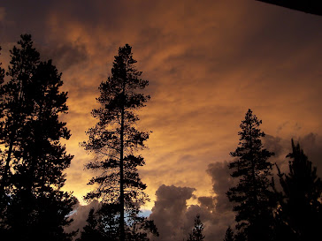 Stormy Sunset in Oregon