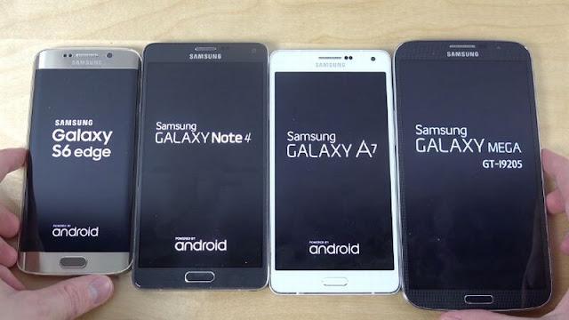Adu Cepat Booting Smartphone Galaxy Milik Samsung