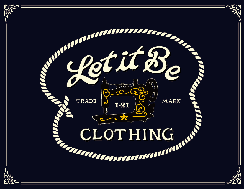 LET IT BE CLOTHING OFFICIAL BLOG