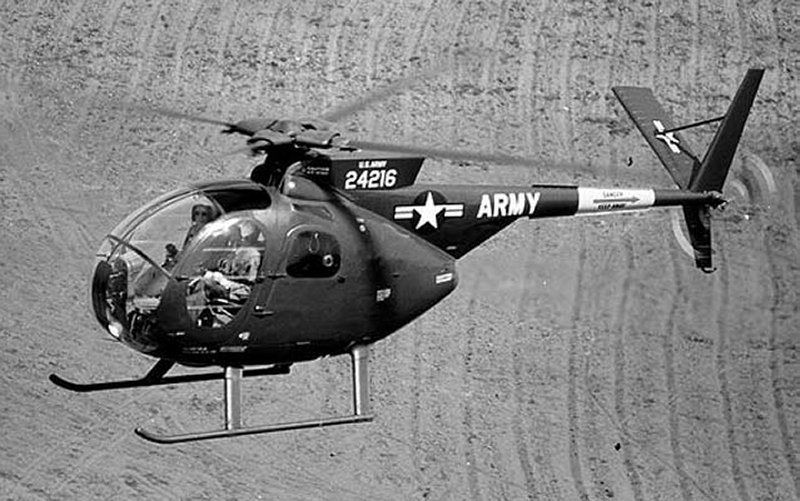 OH-6A Cayuse Small Tactical Helicopter