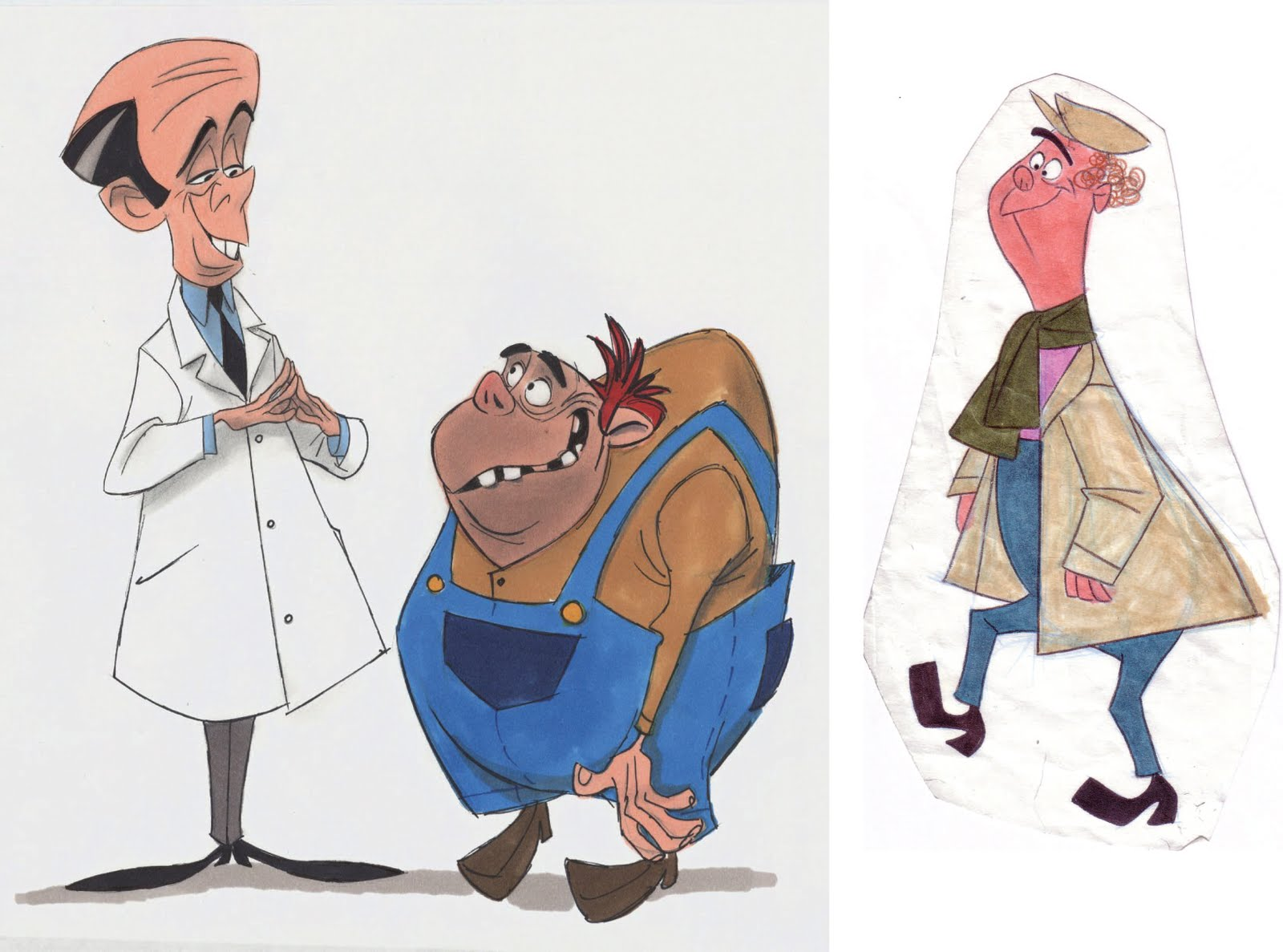 Character Design Site : Playful traditional character design for sam owens by b tibéri