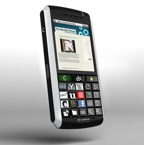 MozPhone Throw-away Concept: OLED Blackberry 1