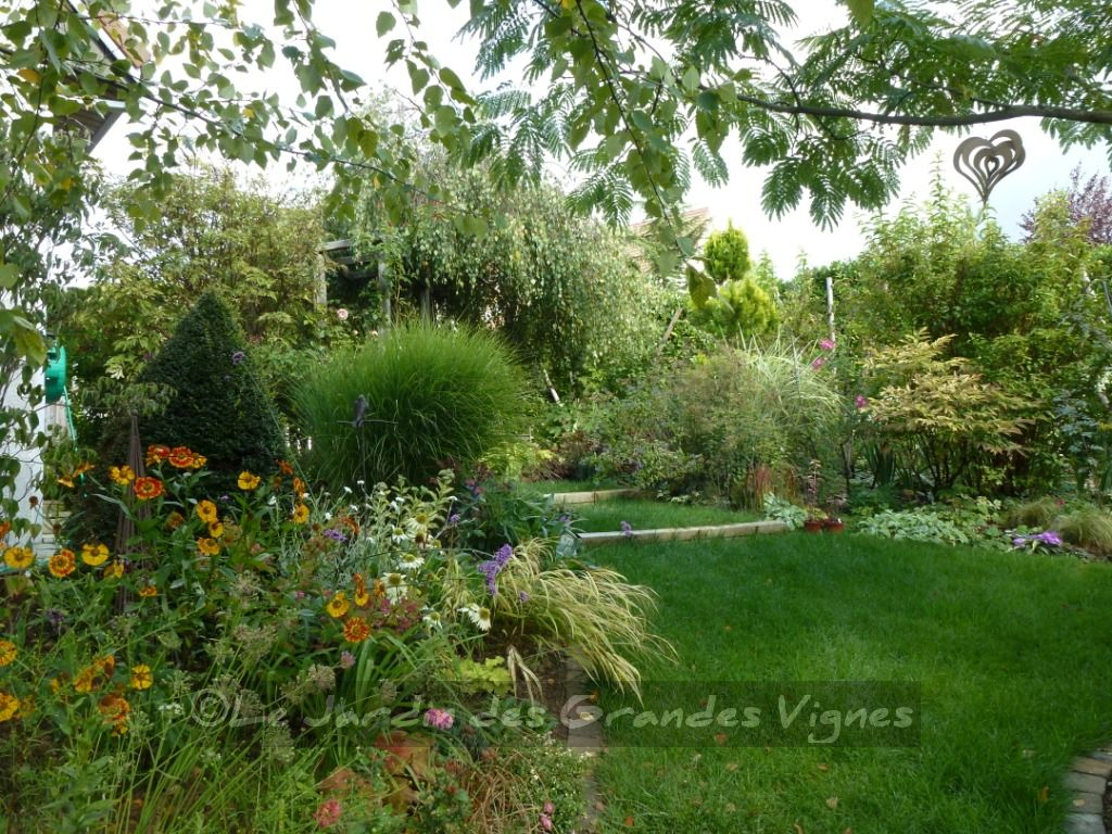 Le jardin des grandes vignes au jardin for Jardines grandes