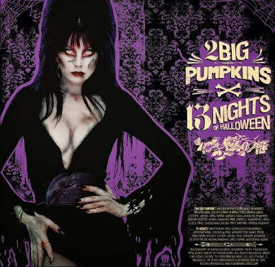 2 Big Pumpkins and 13 Nights of Halloween are Elvira's two new songs
