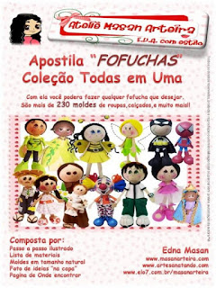 apostila de bonecas em 3d