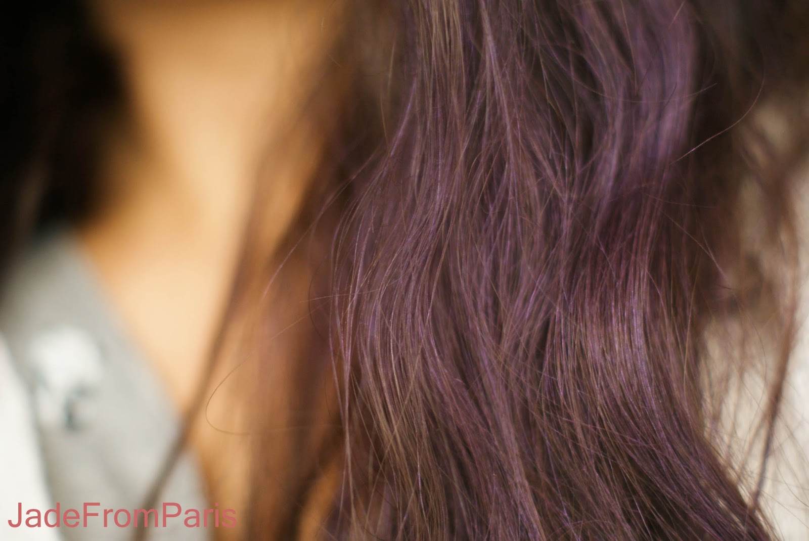 jade from paris rainbow hair un tie and dye violet ph m re gr ce redken