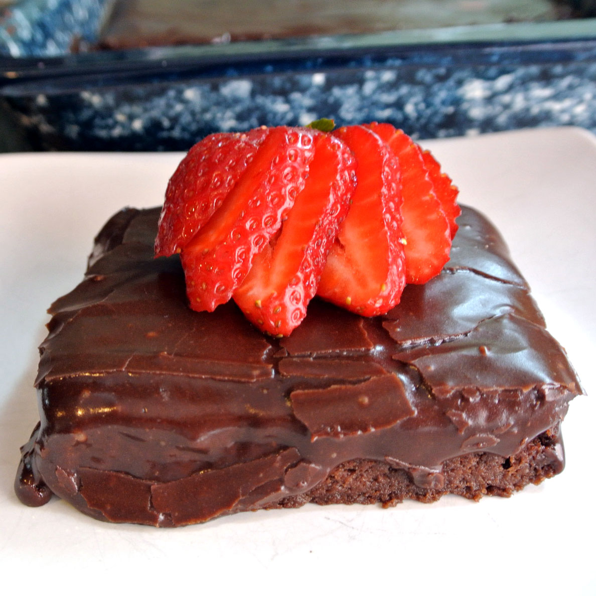 Gluten-Free Dark Chocolate Zucchini Brownies Recipe :