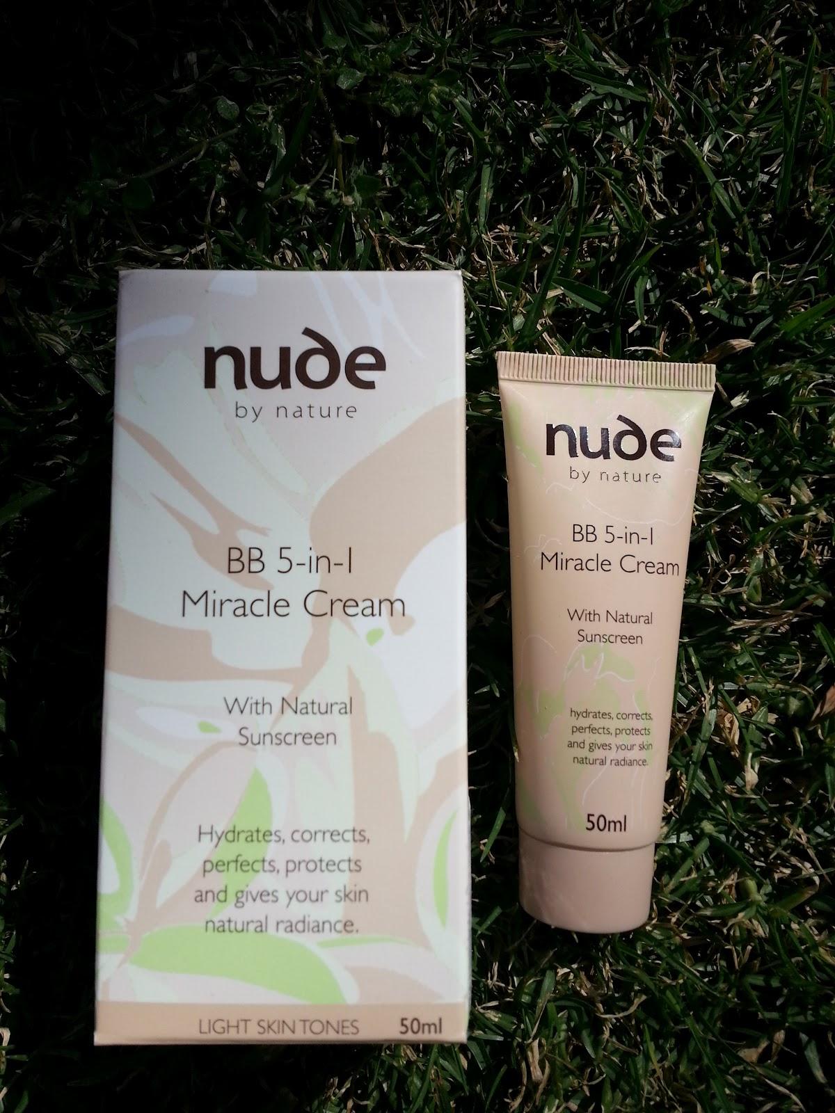 NUDE BY NATURE Sheer Glow BB-Cream 30ml - QVC.de