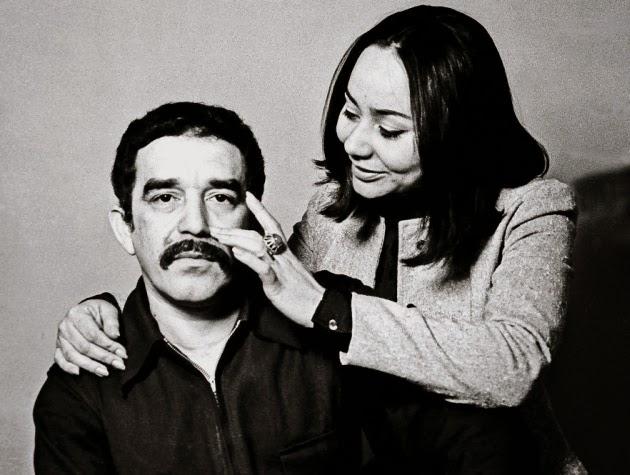 Габриэль Гарсия Маркес с супругой Мерседес