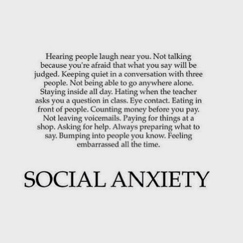 get rid of social anxiety now