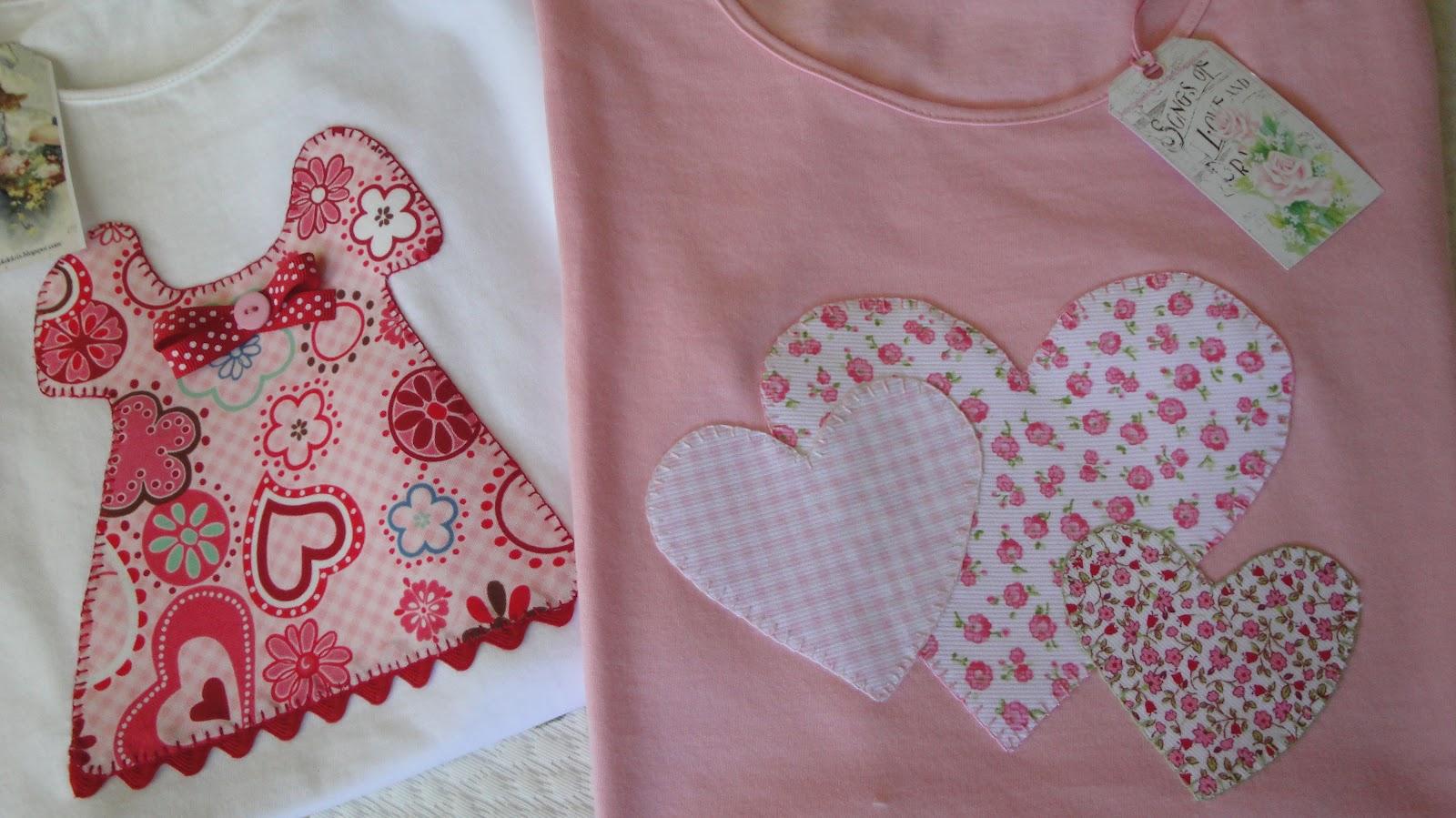 El Patchwork De Kris Las Camisetas Son Para El Verano  ~ Ideas Para Decorar Camisetas Infantiles