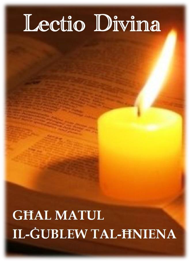 LAIKOS --- LECTIO DIVINA GĦAL MATUL IL-ĠUBLEW STRAORDINARJU TAL-ĦNIENA 2015-2016