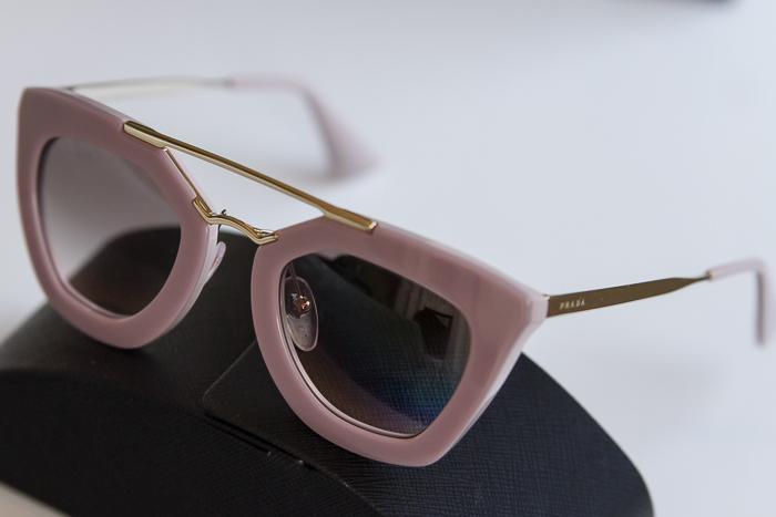 Gafas de sol tendencia de pasta y metal con personalidad novedad de Prada nueva coleccion