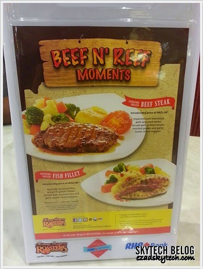 Kenny Rogers Beef N' Reef Moments