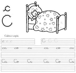 atividade caligrafia letra c