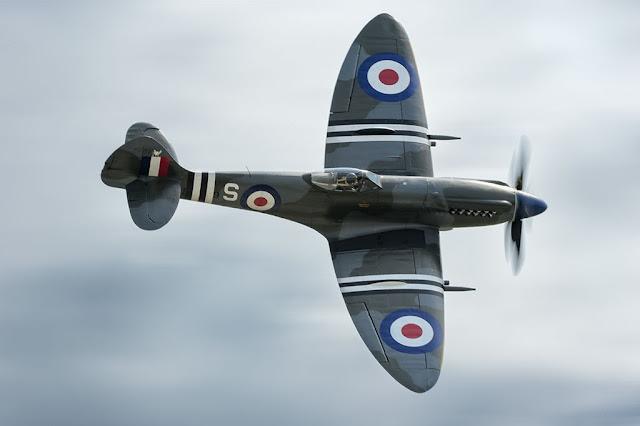 Jim Beasley's Supermarine Spitfire Mk XVIII