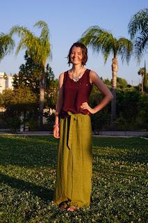 simplicity 2258 green linen