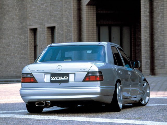 w124 wald body kit
